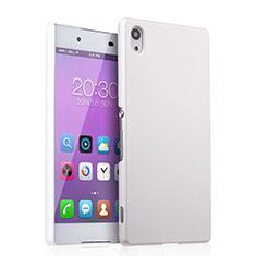 Custodia Plastica Rigida Opaca per Sony Xperia Z3+ Plus Bianco
