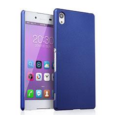 Custodia Plastica Rigida Opaca per Sony Xperia Z3+ Plus Blu