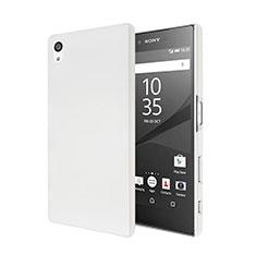Custodia Plastica Rigida Opaca per Sony Xperia Z5 Bianco