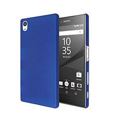 Custodia Plastica Rigida Opaca per Sony Xperia Z5 Blu