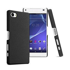 Custodia Plastica Rigida Opaca per Sony Xperia Z5 Compact Nero