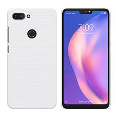 Custodia Plastica Rigida Opaca per Xiaomi Mi 8 Lite Bianco
