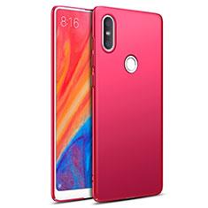 Custodia Plastica Rigida Opaca per Xiaomi Mi Mix 2S Rosso