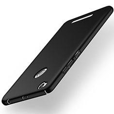 Custodia Plastica Rigida Opaca per Xiaomi Redmi 3 Pro Nero