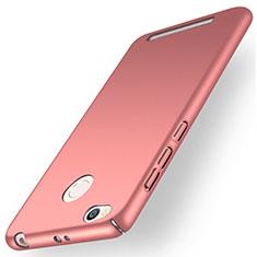 Custodia Plastica Rigida Opaca per Xiaomi Redmi 3 Pro Oro Rosa