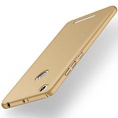 Custodia Plastica Rigida Opaca per Xiaomi Redmi 3S Oro