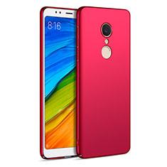 Custodia Plastica Rigida Opaca per Xiaomi Redmi 5 Rosso