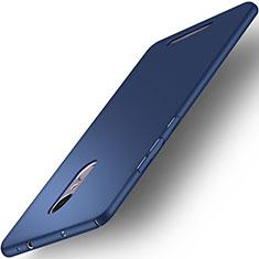Custodia Plastica Rigida Opaca per Xiaomi Redmi Note 3 Pro Blu
