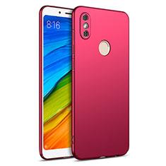 Custodia Plastica Rigida Opaca per Xiaomi Redmi Note 5 Pro Rosso