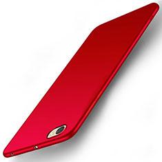 Custodia Plastica Rigida Opaca per Xiaomi Redmi Note 5A Standard Edition Rosso