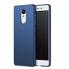 Custodia Plastica Rigida Opaca Q02 per Xiaomi Redmi Note 4X Blu