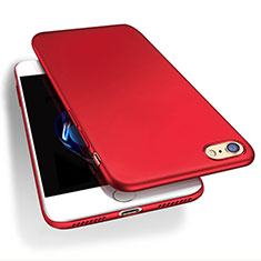 Custodia Plastica Rigida Opaca Q03 per Apple iPhone 8 Rosso