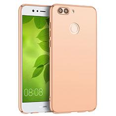 Custodia Plastica Rigida Opaca Q04 per Huawei Nova 2 Plus Oro