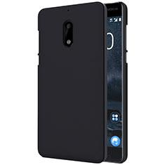 Custodia Plastica Rigida Opaca R01 per Nokia 6 Nero