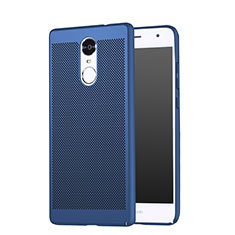 Custodia Plastica Rigida Perforato per Huawei Enjoy 6 Blu