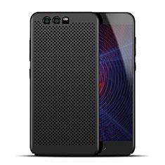 Custodia Plastica Rigida Perforato per Huawei Honor 9 Premium Nero