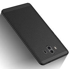 Custodia Plastica Rigida Perforato per Huawei Mate 10 Nero