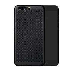 Custodia Plastica Rigida Perforato per Huawei P10 Plus Nero