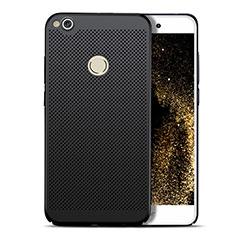 Custodia Plastica Rigida Perforato per Huawei P8 Lite (2017) Nero