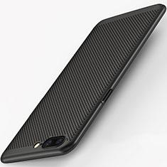 Custodia Plastica Rigida Perforato per OnePlus 5 Nero
