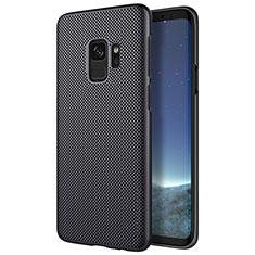 Custodia Plastica Rigida Perforato per Samsung Galaxy S9 Nero