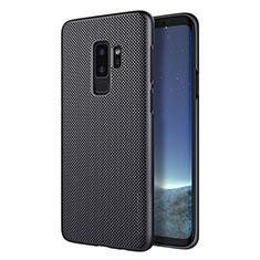 Custodia Plastica Rigida Perforato per Samsung Galaxy S9 Plus Nero
