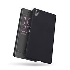 Custodia Plastica Rigida Perforato per Sony Xperia X Nero