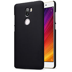 Custodia Plastica Rigida Perforato per Xiaomi Mi 5S Plus Nero