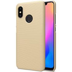 Custodia Plastica Rigida Perforato per Xiaomi Mi 8 Oro