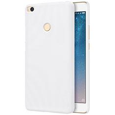 Custodia Plastica Rigida Perforato per Xiaomi Mi Max 2 Bianco