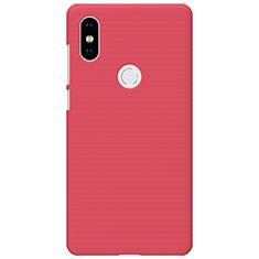 Custodia Plastica Rigida Perforato per Xiaomi Mi Mix 2S Rosso