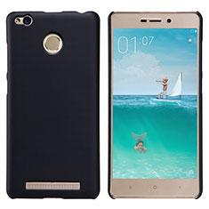 Custodia Plastica Rigida Perforato per Xiaomi Redmi 3S Nero