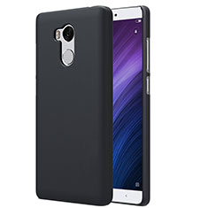 Custodia Plastica Rigida Perforato per Xiaomi Redmi 4 Prime High Edition Nero