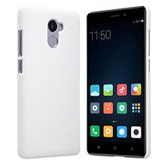 Custodia Plastica Rigida Perforato per Xiaomi Redmi 4 Standard Edition Bianco