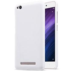 Custodia Plastica Rigida Perforato per Xiaomi Redmi 4A Bianco