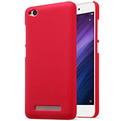 Custodia Plastica Rigida Perforato per Xiaomi Redmi 4A Rosso