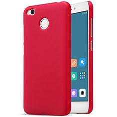 Custodia Plastica Rigida Perforato per Xiaomi Redmi 4X Rosso