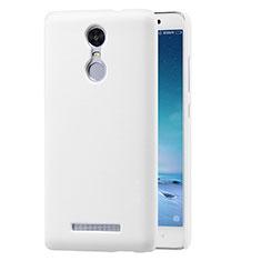 Custodia Plastica Rigida Perforato per Xiaomi Redmi Note 3 Bianco