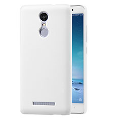 Custodia Plastica Rigida Perforato per Xiaomi Redmi Note 3 Pro Bianco