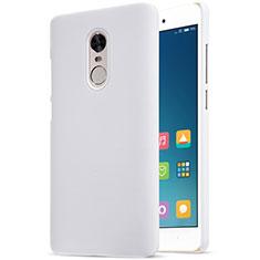 Custodia Plastica Rigida Perforato per Xiaomi Redmi Note 4 Standard Edition Bianco