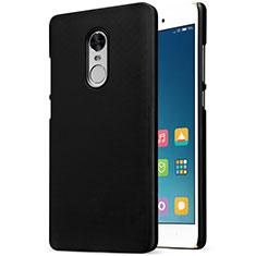 Custodia Plastica Rigida Perforato per Xiaomi Redmi Note 4 Standard Edition Nero