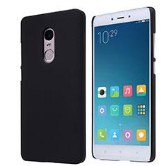 Custodia Plastica Rigida Perforato per Xiaomi Redmi Note 4X High Edition Nero