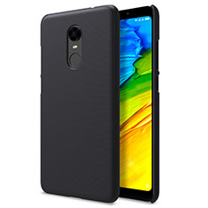 Custodia Plastica Rigida Perforato per Xiaomi Redmi Note 5 Indian Version Nero