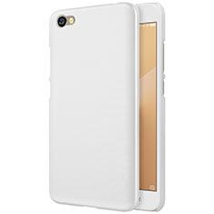 Custodia Plastica Rigida Perforato per Xiaomi Redmi Note 5A Standard Edition Bianco