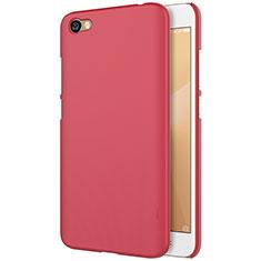 Custodia Plastica Rigida Perforato per Xiaomi Redmi Note 5A Standard Edition Rosso