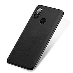 Custodia Plastica Rigida Perforato W01 per Xiaomi Mi 8 Nero
