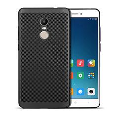 Custodia Plastica Rigida Perforato W01 per Xiaomi Redmi Note 4 Standard Edition Nero