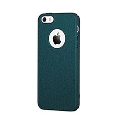 Custodia Plastica Rigida Sabbie Mobili per Apple iPhone SE Blu