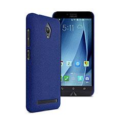 Custodia Plastica Rigida Sabbie Mobili per Asus Zenfone Go ZC500TG Blu