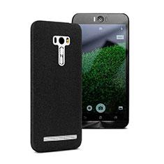 Custodia Plastica Rigida Sabbie Mobili per Asus Zenfone Selfie ZD551KL Nero